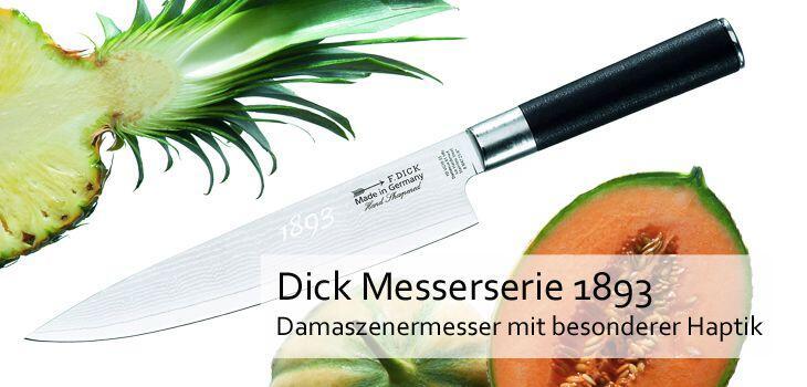 Dick Messerserie 1893 - Damaszenermesser mit besonderer Haptik
