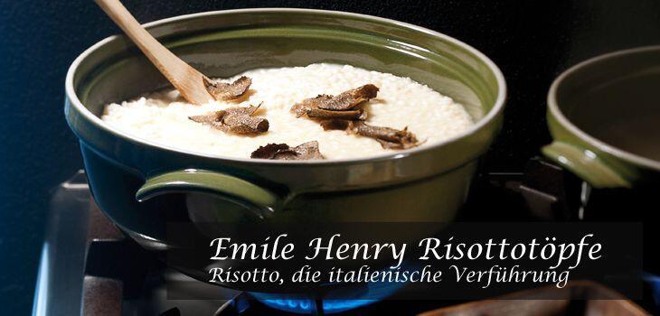 Emile Henry Risottotöpfe aus Flame®-Keramik - Risotto, die italienische Verführung