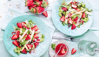 Spargel & Erdbeere - Traumpaar des Frühjahrs
