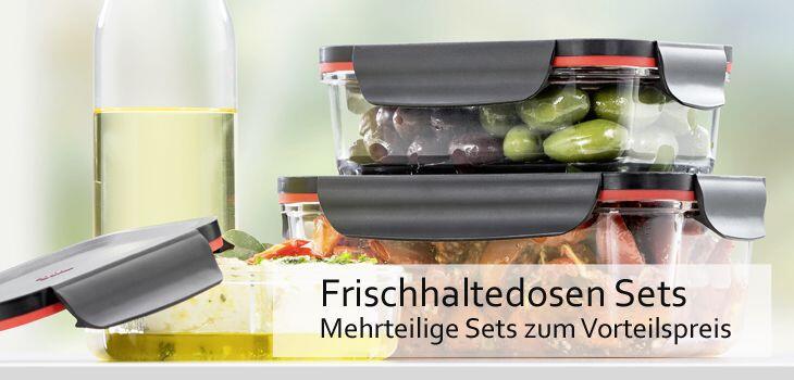 Frischhaltedosen Sets - Mehrteilige Frischhaltedosen-Sets zum Vorteilspreis