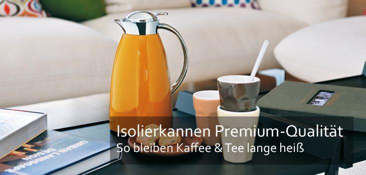 Isolierkannen - Beste Isolierleistung für Kaffee & Tee