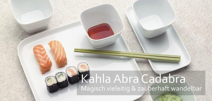 Kahla Abra Cadabra - Magisch vieleitig & zauberhaft wandelbar