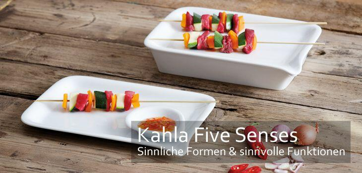 KAHLA Five Senses - Sinnlich in der Form, sinnvoll in der Funktion