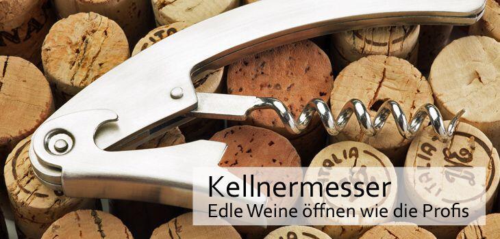Kellnermesser - Edle Weine öffnen wie die Profis