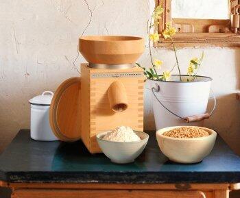Getreidemühlen - Der Einstieg in die Genusswelt der Vollwertküche