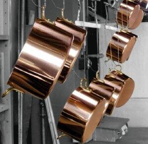 Erstklassige Wärmeleiter aus Baden Württemberg - Töpfe und Pfannen aus der Kupfermanufaktur