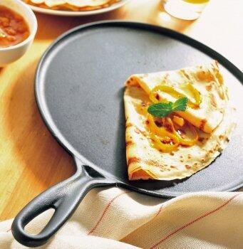 Le Creuset Crepespfannen - für luftig-leichte Crepes