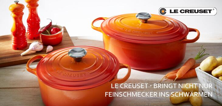 Le Creuset - Kompetenz in Gusseisen