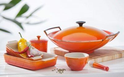Le Creuset Woks - Für die gesunde Frischeküche Asiens