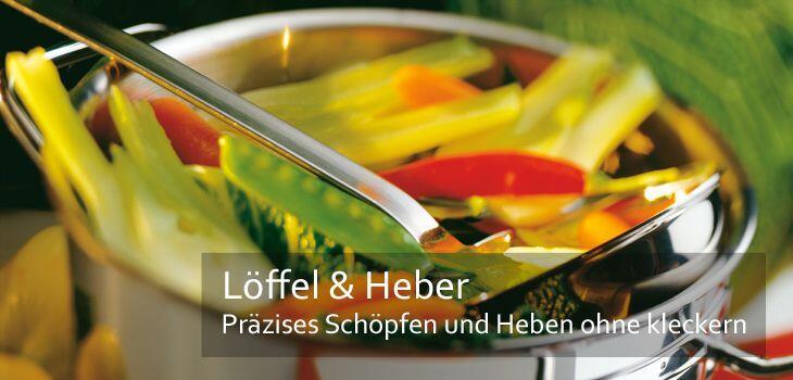 Löffel & Heber - Präzises Schöpfen und Heben ohne zu kleckern
