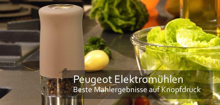 Peugeot Elektromühlen - Beste Mahlergebnisse auf Knopfdruck