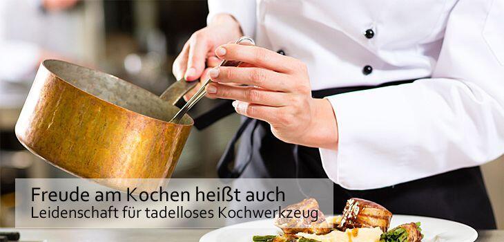 KochForm Gastro - Freude am Kochen heißt auch Leidenschaft für tadelloses Kochwerkzeug