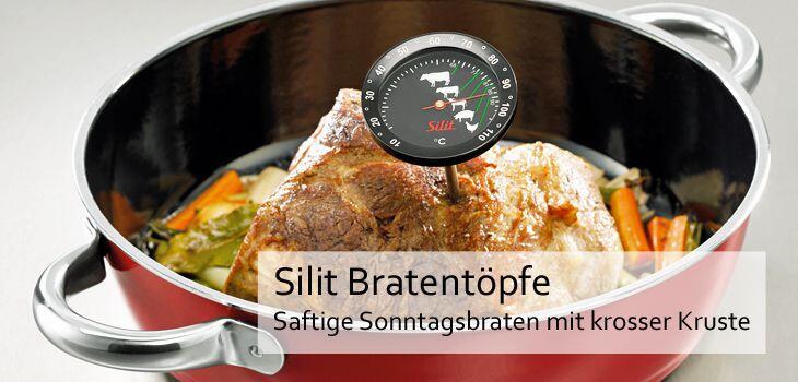 Silit Bratentöpfe - Saftige Sonntagsbraten mit krosser Kruste