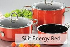 Silit Kochtopfserie Energy Red