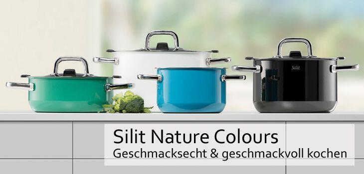 Silit Nature Colours - Geschmacksecht & geschmackvoll kochen