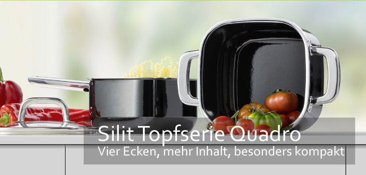 Silit Kochtöpfe - perfekt kochen und gesund genießen