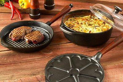 Pures Gusseisen - die ursprüngliche Tradition des Kochens