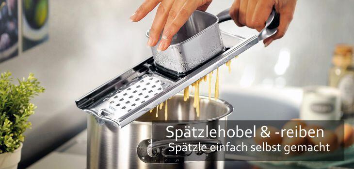 Spätzle - Die schwäbische Kunst der Nudelzubereitung