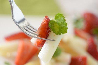 Spargel & Erdbeere
