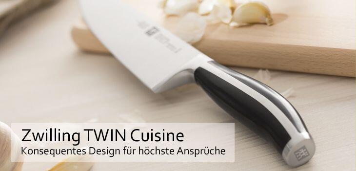 Zwilling TWIN Cuisine - Konsequentes Design für höchste Ansprüche