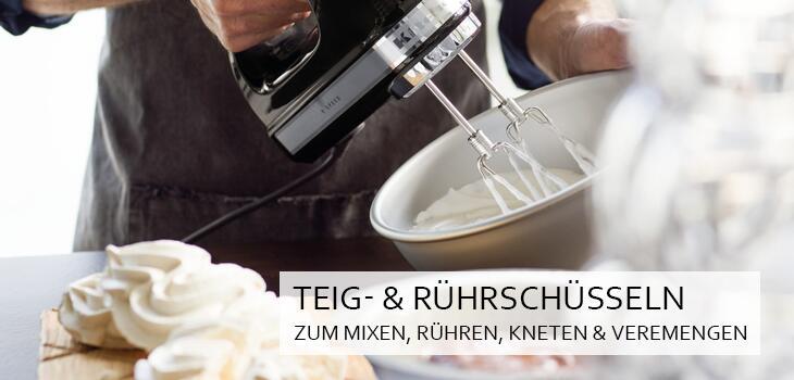Teig- & Rührschüsseln - Zum Mixen, Rühren, Kneten & Vermengen