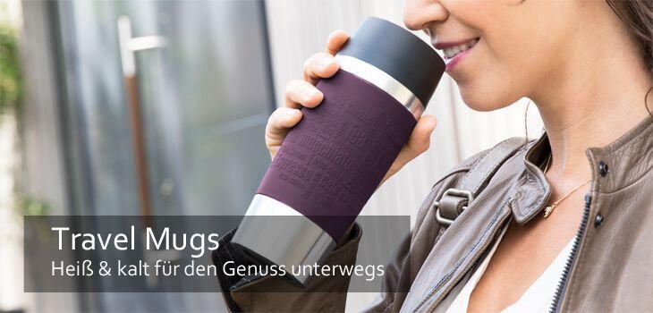 Travel Mugs - Heiß & kalt für den Genuss unterwegs