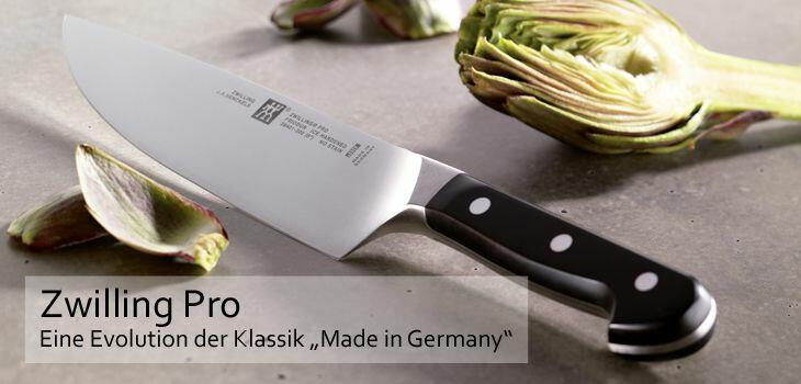 "Zwilling Pro - Eine Evolution der Klassik ""Made in Germany"""
