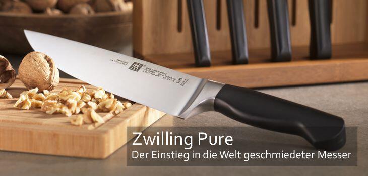 Zwilling Pure - Der Einstieg in die Welt geschmiedeter Messer