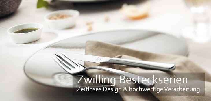 Zwilling Besteckserien - Zeitlos schönes Design & hochwertige Verarbeitung