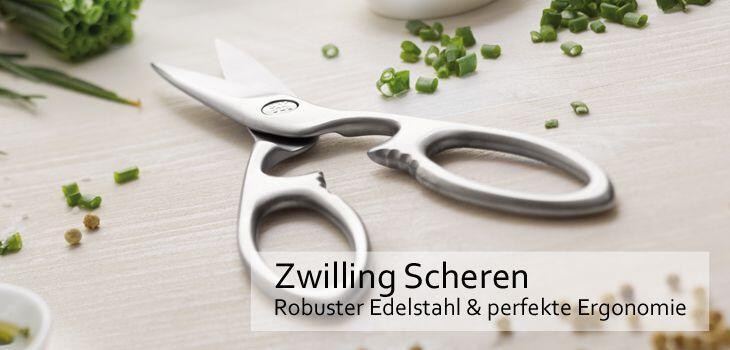 Zwilling Scheren - Robuster Edelstahl & perfekte Ergonomie
