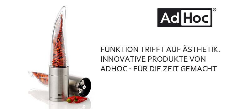 AdHoc - Elektrische & manuelle Mühlen für den geschmacklichen Hochgenuss