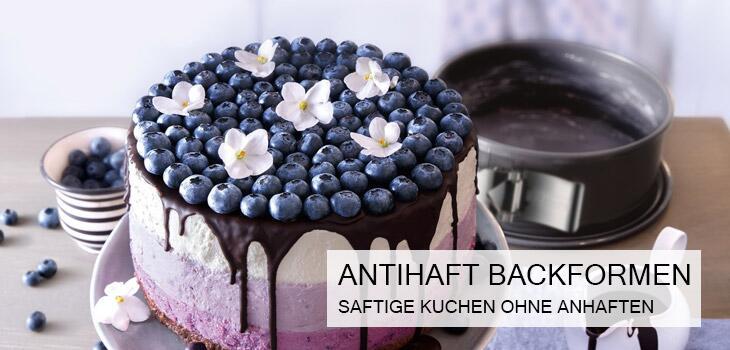 Backformen mit Antihaftbeschichtung - Saftige Kuchen ohne Anhaften