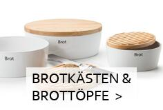 Continenta Brotkästen & Brottöpfe