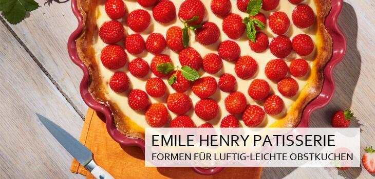 Emile Henry Kuchen- & Backformen: Für sanft und gleichmässig durchgebacke Obstkuchen