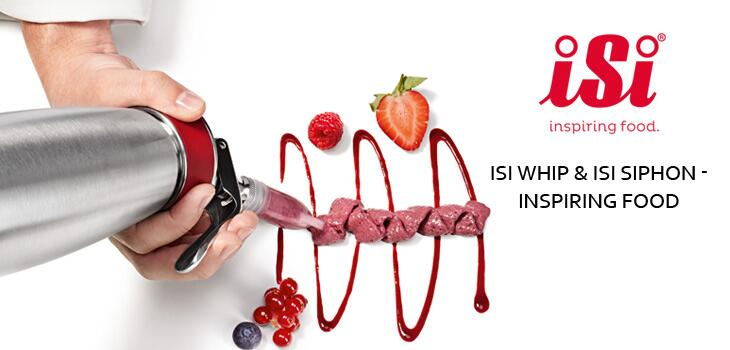 iSi Whip & iSi Siphon - Inspiring Food