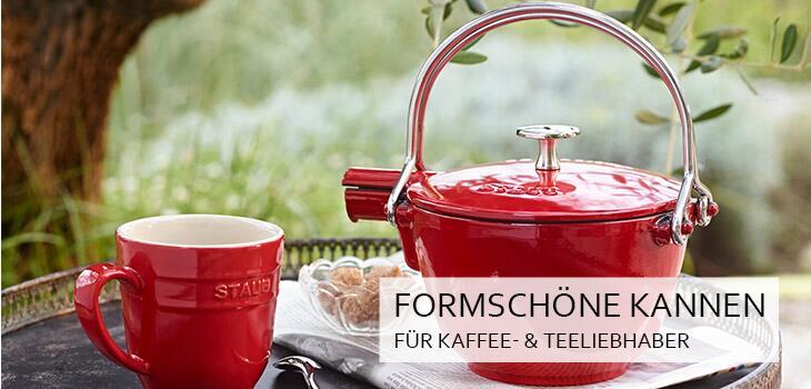 Formschöne Kannen für Kaffee- und Teeliebhaber