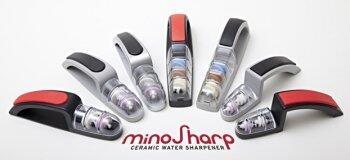 minoSharp - Scharfe Messer im Handumdrehen