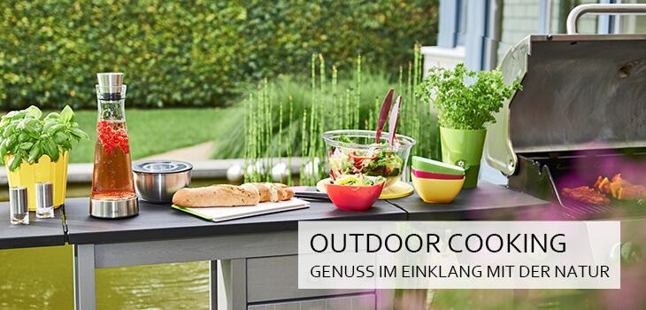 Outdoor Cooking - Genuss im Einklang mit der Natur