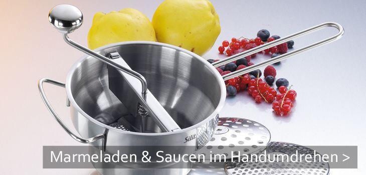 Passiergeräte - Marmeladen und Saucen im Handumdrehen