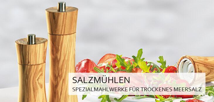 Salzmühlen - Spezialmahlwerke für grobes, trockenes Meersalz