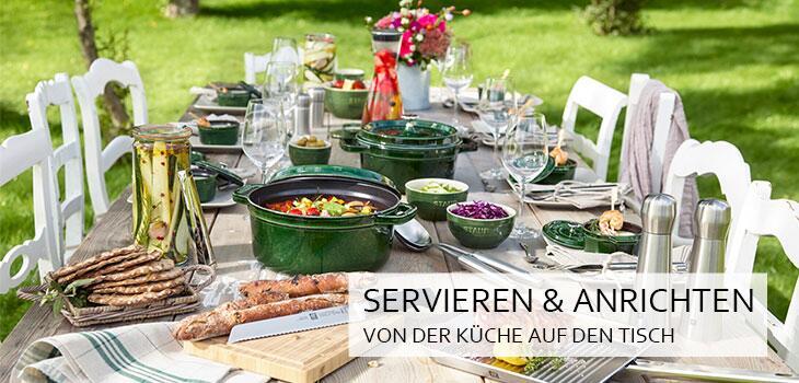Servieren & Anrichten - Von der Küche auf den Tisch
