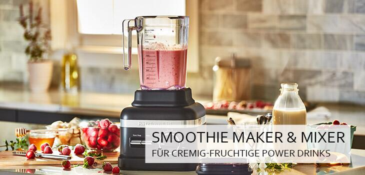 Smoothie Maker für fruchtig-cremige Power Drinks