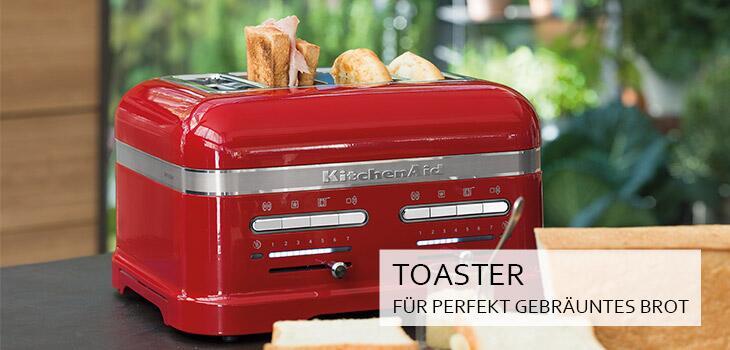Toaster für perfekt gebräuntes Brot