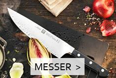 Zwilling Messer nach Messerarten